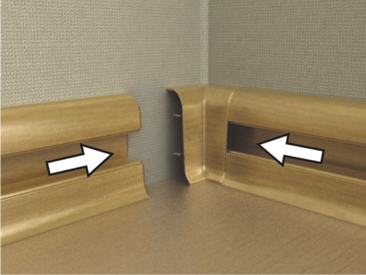 того как снять соединение с плинтуса термобелье